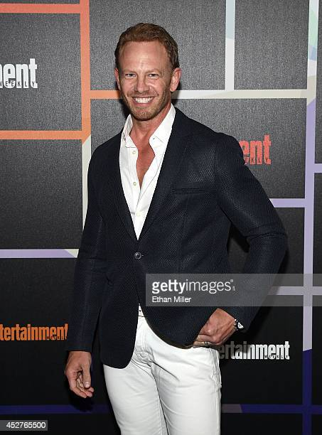Actor Ian Ziering attends Entertainment Weekly's annual ComicCon celebration at Float at Hard Rock Hotel San Diego on July 26 2014 in San Diego...