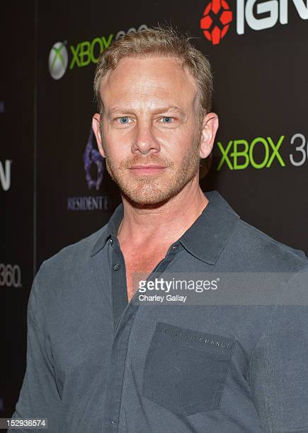 Actor Ian Ziering attends IGN and Capcom's party celebrating the launch of Resident Evil 6 at Lure on September 28 2012 in Hollywood California
