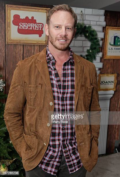 Actor Ian Ziering attends the 2nd Annual Santa's Secret Workshop Benefiting LA Family Housing at Andaz on December 1 2012 in West Hollywood California