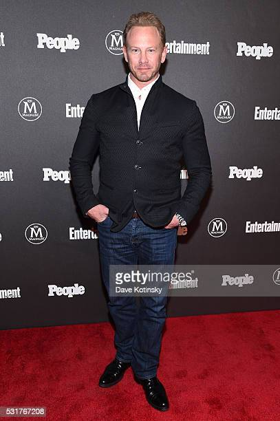 Actor Ian Ziering attends the Entertainment Weekly People Upfronts party 2016 at Cedar Lake on May 16 2016 in New York City