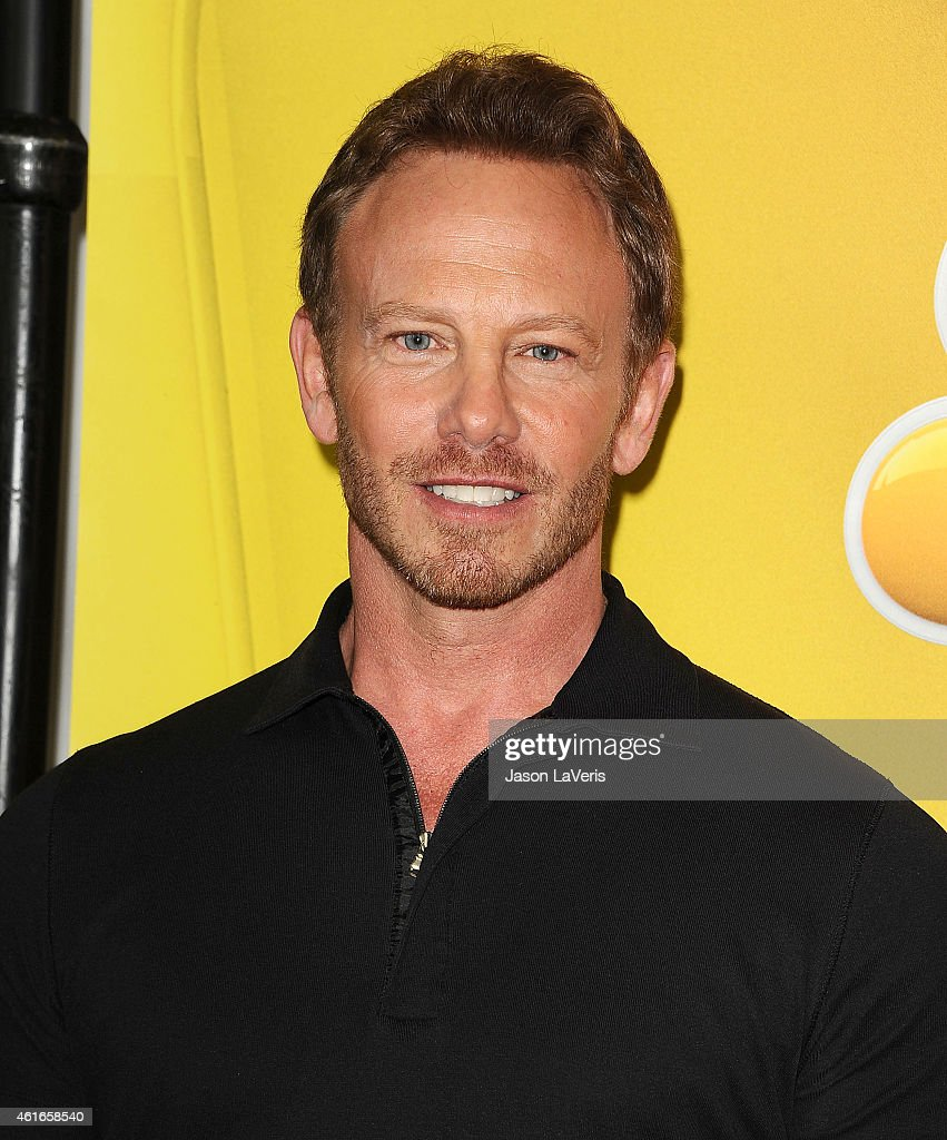 Actor Ian Ziering attends the NBCUniversal 2015 press tour at The Langham Huntington Hotel and Spa on January 16, 2015 in Pasadena, California.