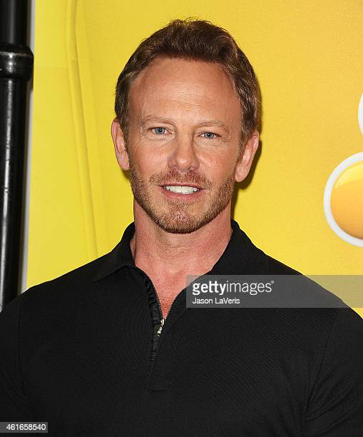 Actor Ian Ziering attends the NBCUniversal 2015 press tour at The Langham Huntington Hotel and Spa on January 16 2015 in Pasadena California