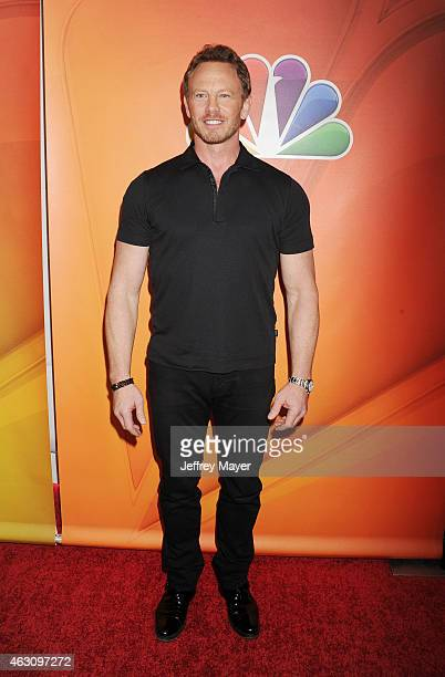 Actor Ian Ziering attends the NBCUniversal 2015 Press Tour at the Langham Huntington Hotel on January 16 2015 in Pasadena California