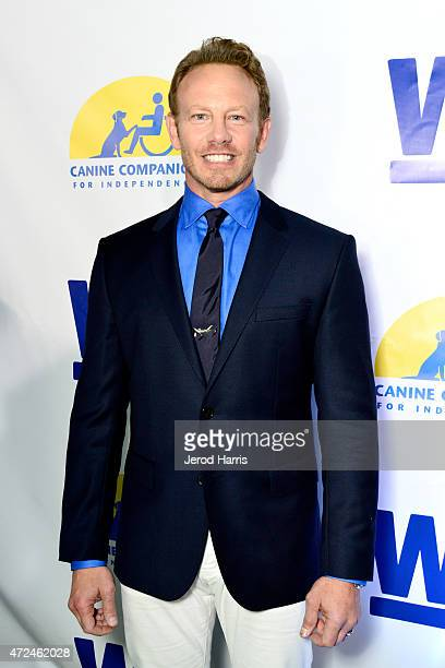 Actor Ian Ziering hosts an event with WE tv to raise awareness for Canine Companions for Independence at Boulevard 3 on May 7 2015 in Los Angeles...