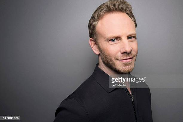 Actor Ian Ziering is photographed for TV Guide Magazine on January 16 2015 in Pasadena California