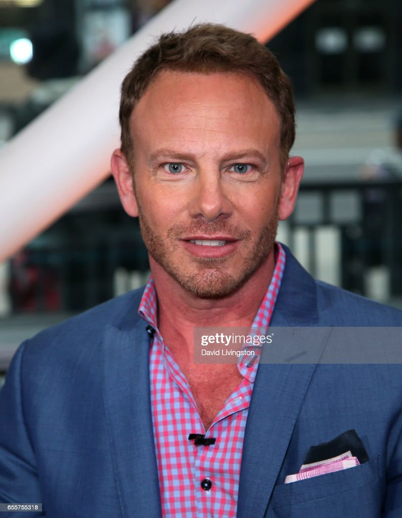 Actor Ian Ziering visits Hollywood Today Live at W Hollywood on March 20, 2017 in Hollywood, California.