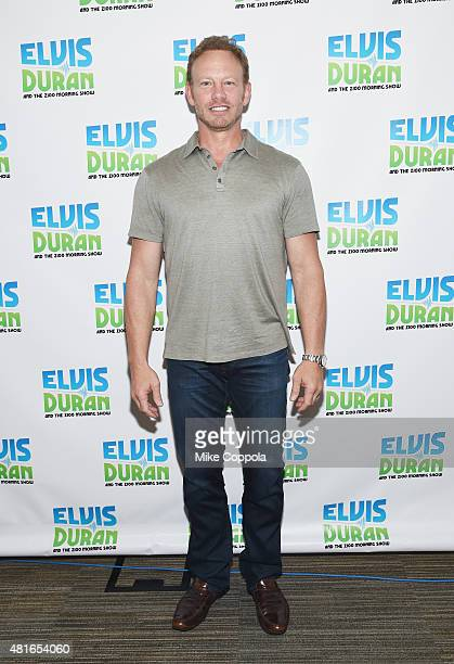 Actor Ian Ziering visits The Elvis Duran Z100 Morning Showat Z100 Studio on July 23 2015 in New York City