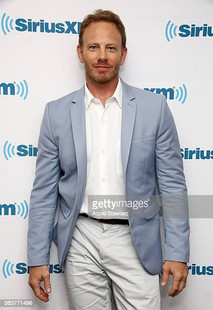 Actor Ian Ziering visits the SiriusXM Studios on July 27 2016 in New York City