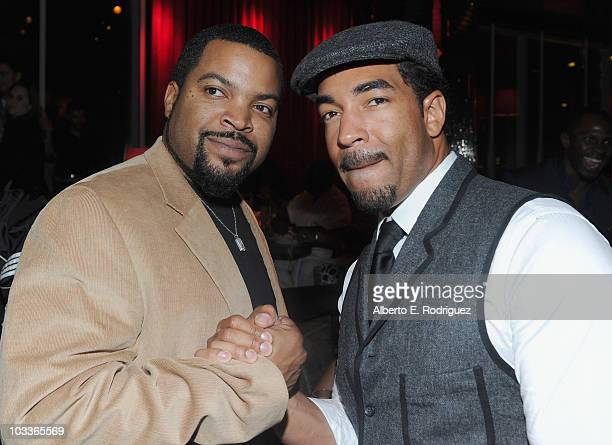 Actor Ice Cube And Director Erik White Attend The After Party For Premiere Of Warner