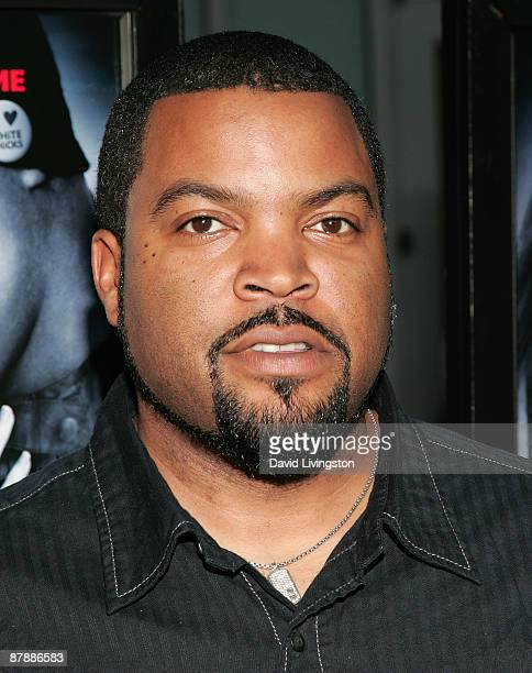"Actor Ice Cube attends the premiere of Paramount Pictures' ""Dance Flick"" at ArcLight Cinemas on May 20, 2009 in Hollywood, California."