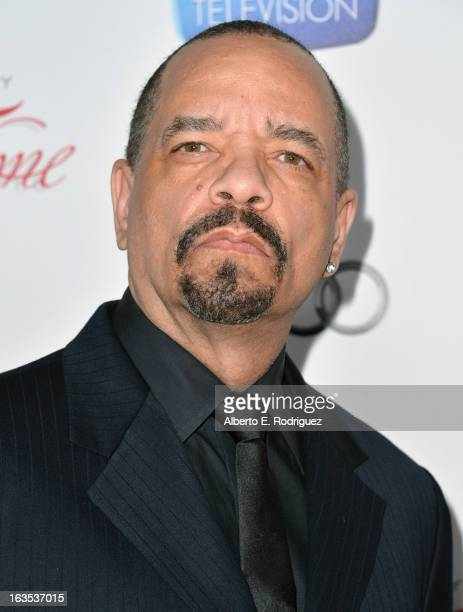 Actor Ice-T attends the Academy of Television Arts & Sciences' 22nd Annual Hall of Fame Induction Gala at The Beverly Hilton Hotel on March 11, 2013...