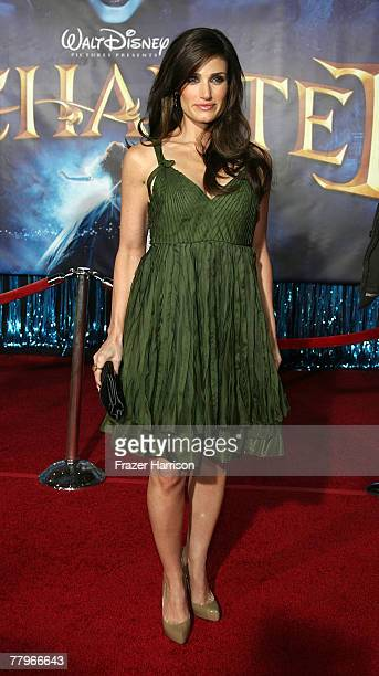 Actor Idina Menzel arrives at the World Premiere of Disney's Enchanted held at the El Capitan theatre on November 172007 in Hollywood California