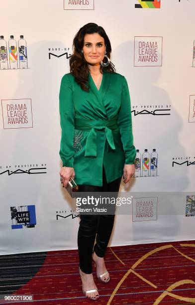 Actor Idina Menzel attends 84th Annual Drama League Awards at Marriott Marquis Times Square on May 18 2018 in New York City