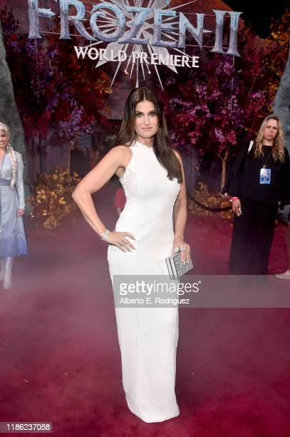 Actor Idina Menzel attends the world premiere of Disney's Frozen 2 at Hollywood's Dolby Theatre on Thursday November 7 2019 in Hollywood California
