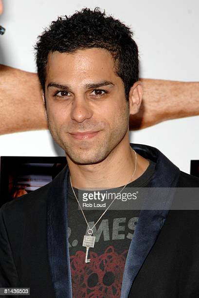 Actor Ido Mosseri attends Columbia Pictures' screening of You Don't Mess With The Zohan on June 4 2008 at the Ziegfeld Theater in New York City
