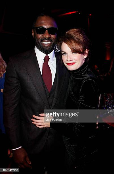 Actor Idris Elba and actress Ruth Wilson attend the Moet British Independent Film Awards at Old Billingsgate Market on December 5 2010 in London...