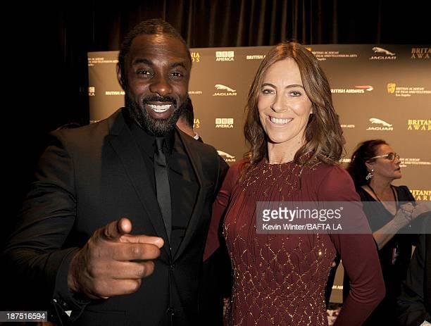 Actor Idris Elba and director Kathryn Bigelow attend the 2013 BAFTA LA Jaguar Britannia Awards presented by BBC America at The Beverly Hilton Hotel...