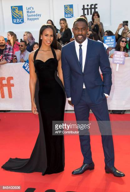 Actor Idris Elba and girlfriend Sabrina Dhowre attend the Premiere of The Mountain Between Us during the 2017 Toronto International Film Festival...