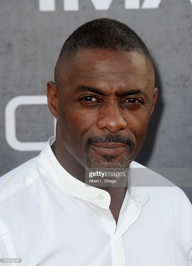 Actor Idris Elba arrives for the Premiere Of Paramount Pictures' 'Star Trek Beyond' held at Embarcadero Marina Park South on July 20, 2016 in San Diego, California.