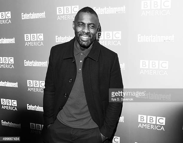 Actor Idris Elba attends BBC America's Luther Screening at The Django at the Roxy Hotel on December 2 2015 in New York City