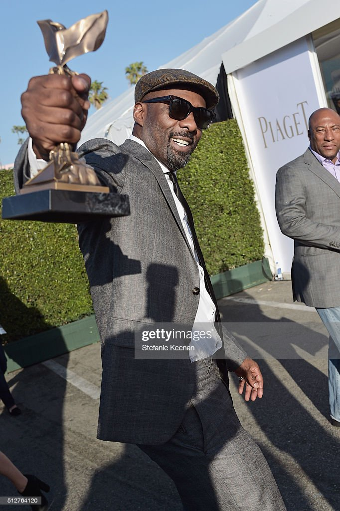 Actor Idris Elba attends the 2016 Film Independent Spirit Awards sponsored by Piaget on February 27, 2016 in Santa Monica, California.