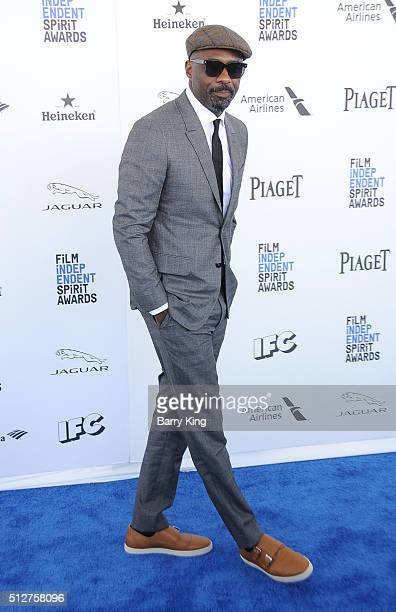 Actor Idris Elba attends the 2016 Film Independent Spirit Awards on February 27 2016 in Santa Monica California