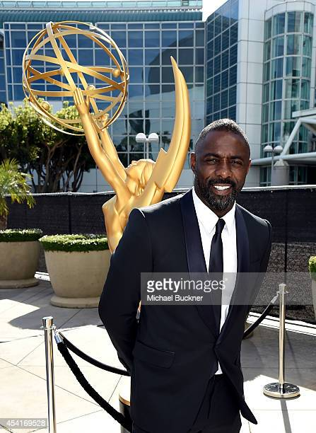 Actor Idris Elba attends the 66th Annual Primetime Emmy Awards held at Nokia Theatre LA Live on August 25 2014 in Los Angeles California