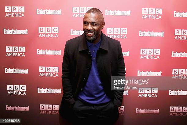 Actor Idris Elba attends the BBC America's 'Luther' screening at The Django at the Roxy Hotel on December 2 2015 in New York City