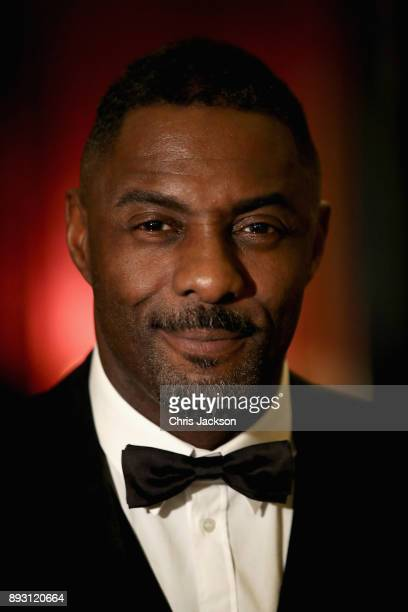 Actor Idris Elba attends the 'One Million Young Lives' dinner at Buckingham Palace on December 14 2017 in London England