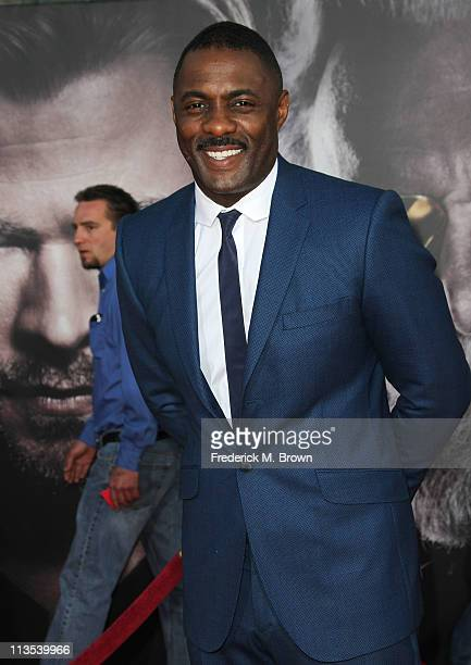 Actor Idris Elba attends the Premiere of Paramount Pictures' and Marvel's 'Thor' at the El Capitan Theater on May 2 2011 in Los Angeles California