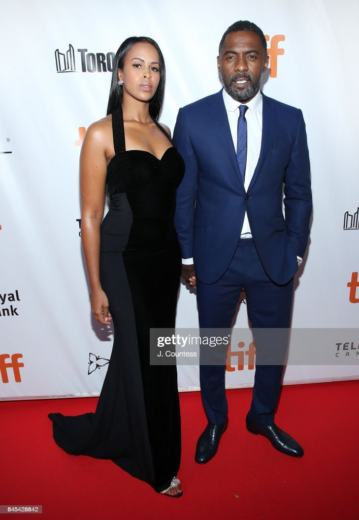 Actor Idris Elba (R) attends the premiere of 'The Mountain Between Us' during the 2017 Toronto International Film Festival at Roy Thomson Hall on September 10, 2017 in Toronto, Canada.
