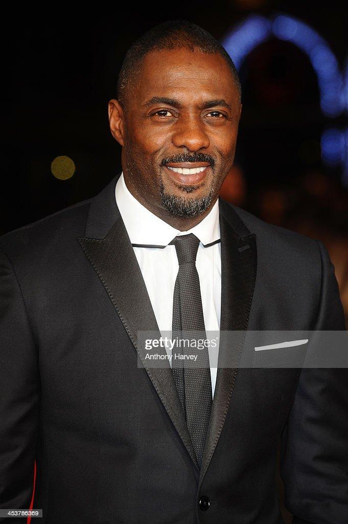 Actor Idris Elba attends the Royal film performance of 'Mandela: Long Walk to Freedom' on December 5, 2013 in London, United Kingdom.