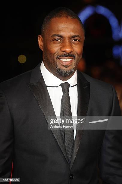 "Actor Idris Elba attends the Royal film performance of ""Mandela: Long Walk to Freedom"" on December 5, 2013 in London, United Kingdom."