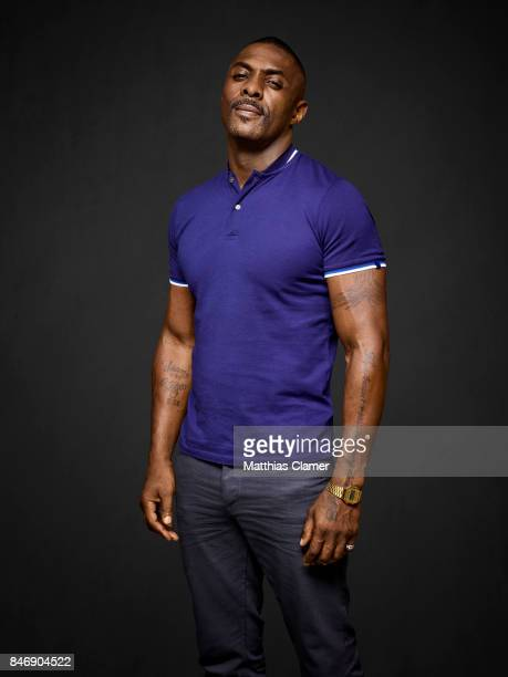 Actor Idris Elba from 'The Dark Tower' is photographed for Entertainment Weekly Magazine on July 21 2016 at Comic Con in the Hard Rock Hotel in San...