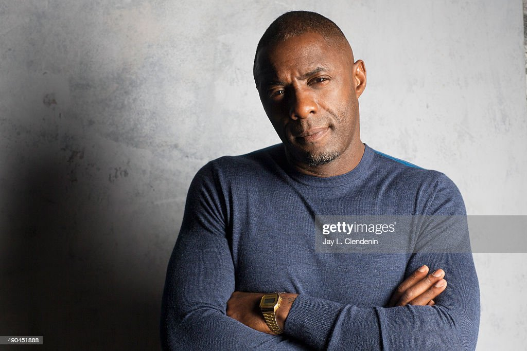 Actor Idris Elba, from the film 'Beasts of No Nation' is photographed for Los Angeles Times on September 25, 2015 in Toronto, Ontario. PUBLISHED IMAGE.
