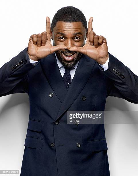 Actor Idris Elba is photographed for Esquire Magazine on September 1 2012 in New York City