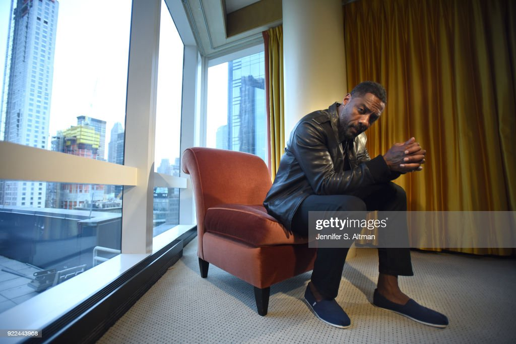 Actor Idris Elba is photographed for Los Angeles Times on September 12, 2017 in New York City.