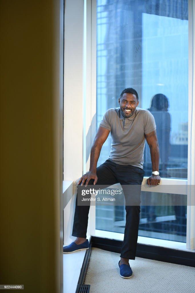 Idris Elba, Los Angeles Times, September 29, 2017 : Fotografía de noticias