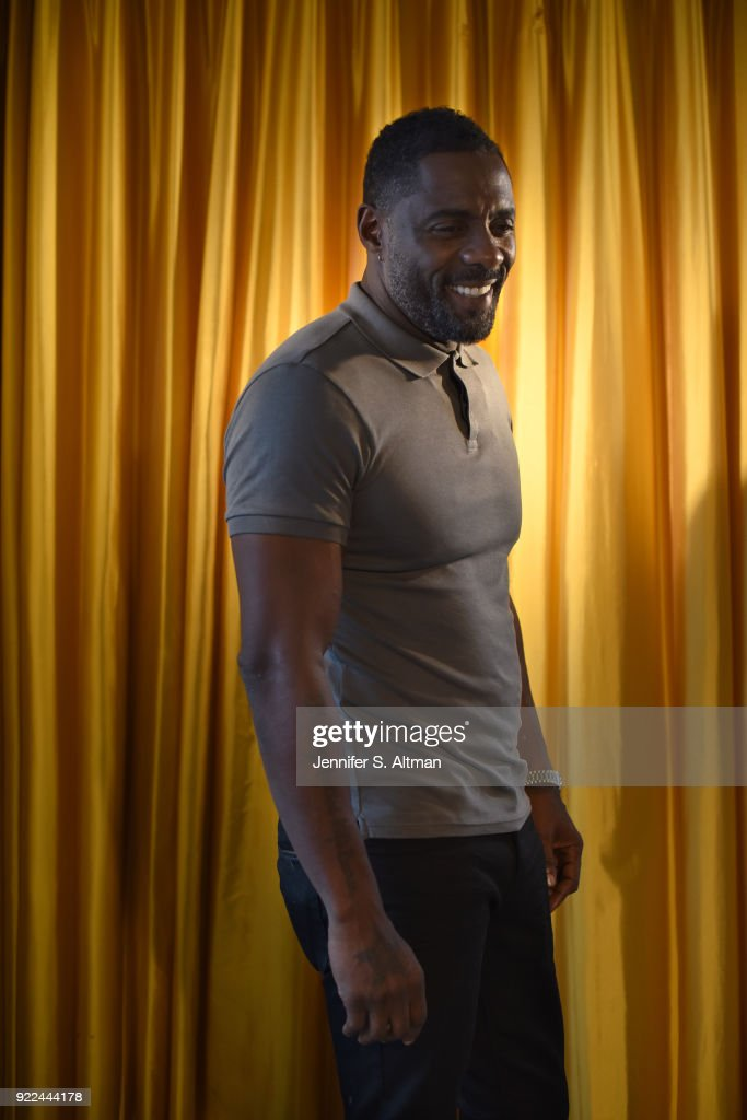 Idris Elba, Los Angeles Times, September 29, 2017 : Nachrichtenfoto