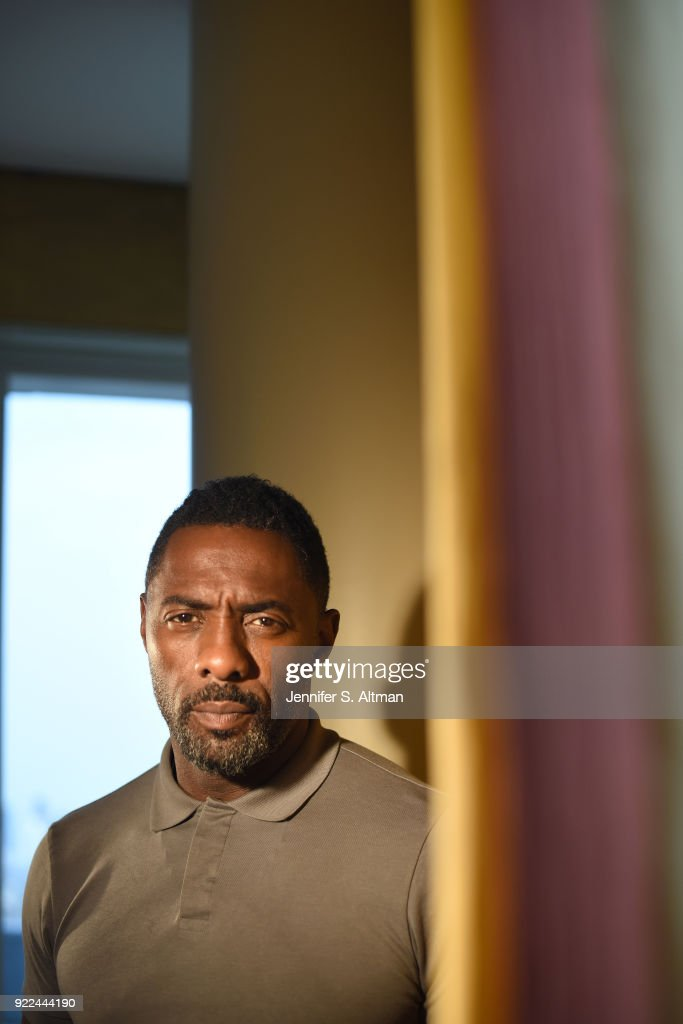 Idris Elba, Los Angeles Times, September 29, 2017 : News Photo