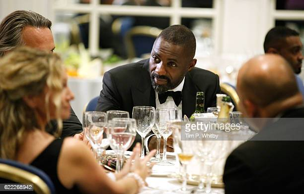 Actor Idris Elba on the set of 100 Streets at the Hilton Hotel on August 29 2014 in London England