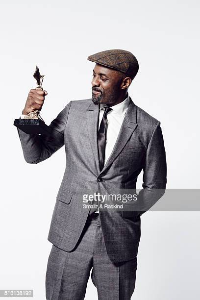 Actor Idris Elba poses for a portrait at the 2016 Film Independent Spirit Awards after winning Best Support Male for 'Beasts of No Nation' on...