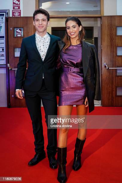 Actor Ignacio Montes and actress Begona Vargas attend Alta Mar second season preview by Netflix at Noia Festival at the hometown of its creator Ramon...