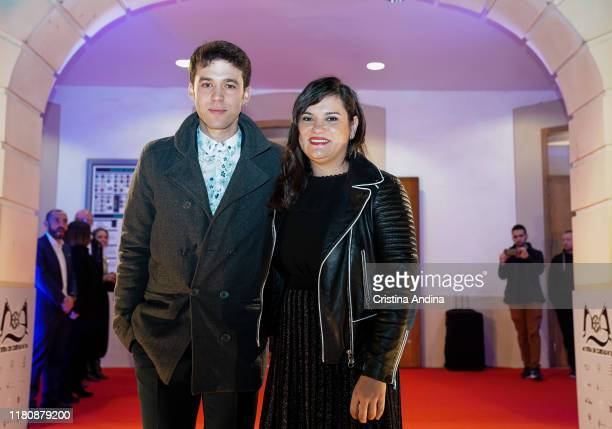 Actor Ignacio Montes and Screenwriter Gema R Neira attend Alta Mar second season preview by Netflix at Noia Festival at the hometown of its creator...