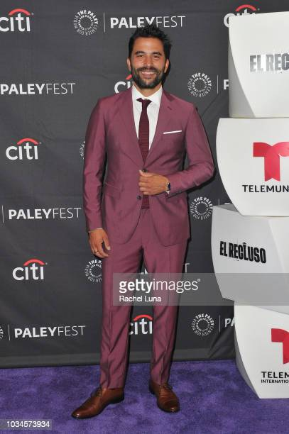 Actor Ignacio Serricchio attends Telemundo Presents 'El Recluso' for the 12th annual PaleyFest Fall TV Previews at The Paley Center for Media on...
