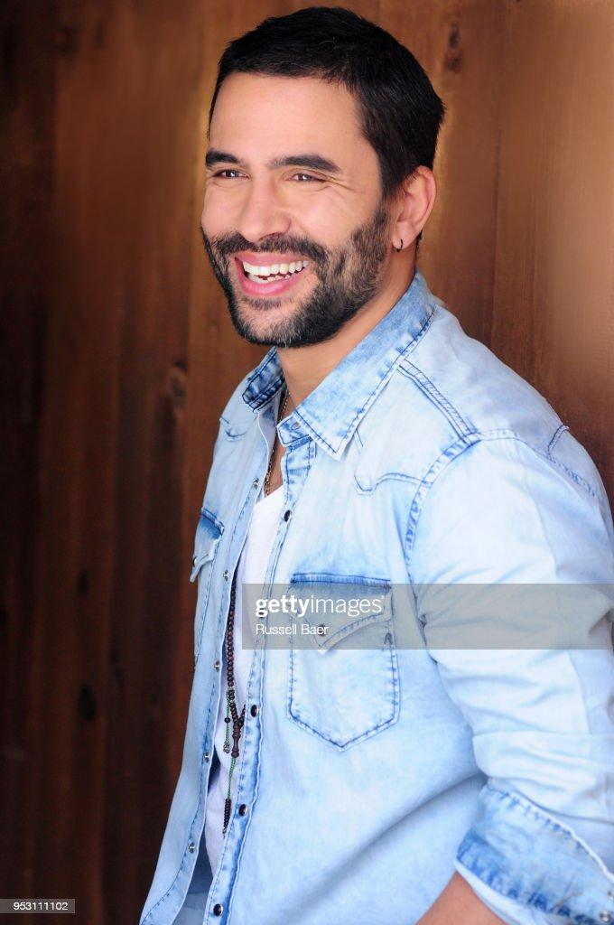 Actor Ignacio Serricchio poses for a portrait on March 7, 2018 in Santa Monica, California.