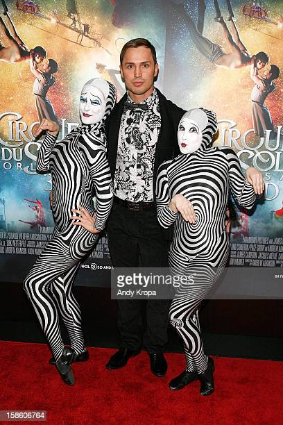 Actor Igor Zaripov attends Cirque Du Soleil Worlds Away New York Special Screening at Regal EWalk on December 20 2012 in New York City