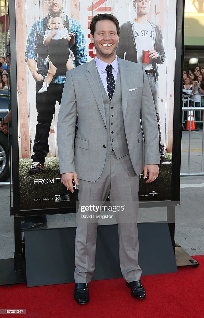 Actor Ike Barinholtz attends the premiere of Universal Pictures' 'Neighbors' at Regency Village Theatre on April 28, 2014 in Westwood, California.