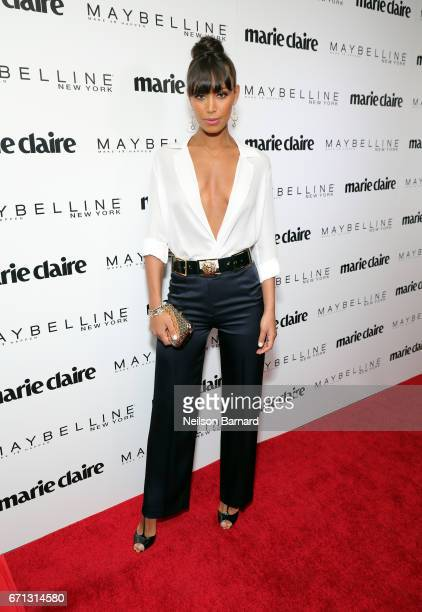 Actor Ilfenesh Hadera attends Marie Claire's 'Fresh Faces' celebration with an event sponsored by Maybelline at Doheny Room on April 21 2017 in West...