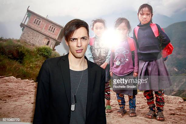 Actor Ilia Yordanov attends the Photo Femmes Exhibition Opening at De Re Gallery featuring the work of Ashley Noelle Bojana Novakovic and Monroe at...